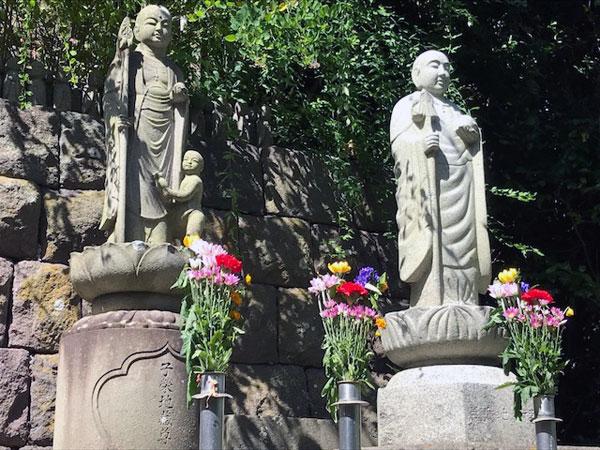 鎌倉長谷寺の子安地蔵