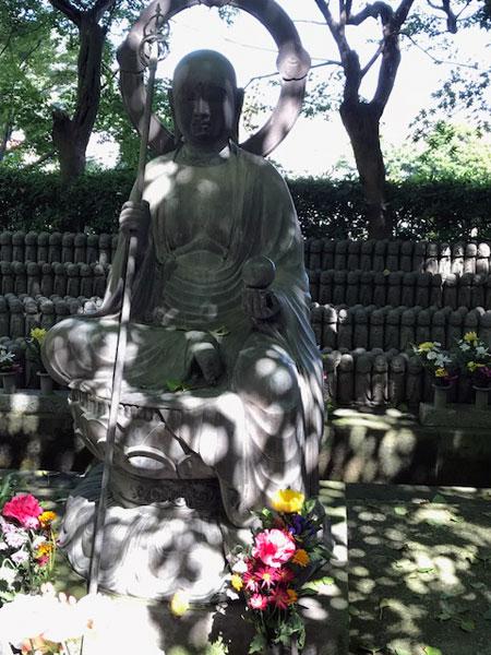 鎌倉長谷寺のお地蔵さん