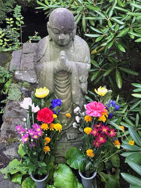 鎌倉長谷寺の地蔵菩薩
