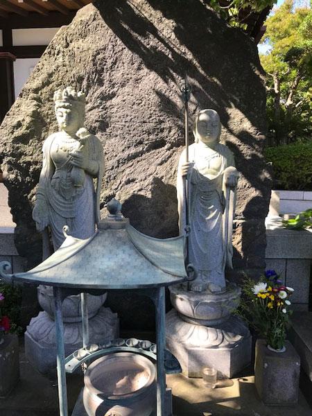 鎌倉長谷寺のお地蔵様