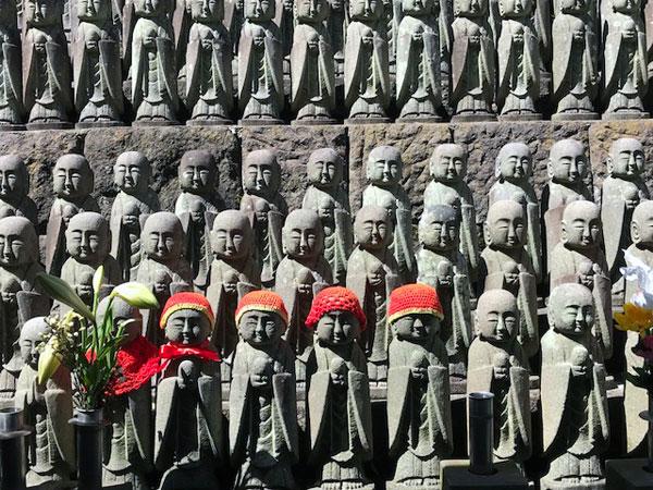 鎌倉長谷寺の千体地蔵