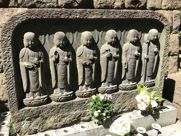 鎌倉長谷寺の六地蔵