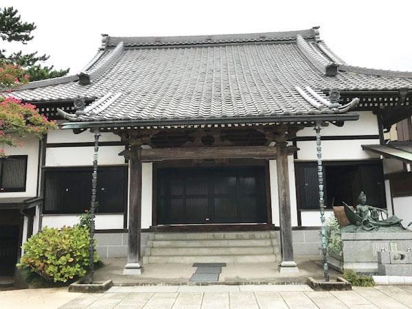 船橋、西福寺、本堂