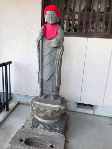 小田原の宗福院の地蔵菩薩像