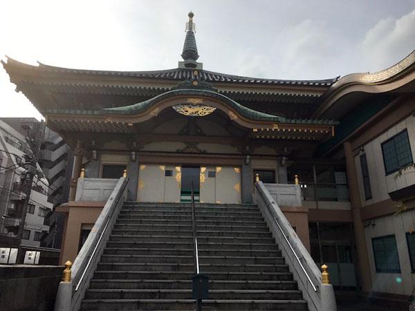 巣鴨 真性寺の本堂