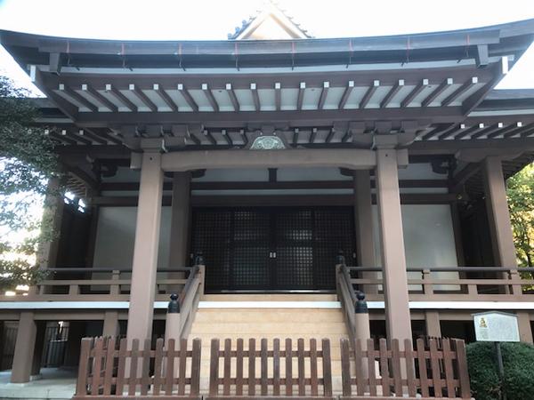 心法寺の本堂