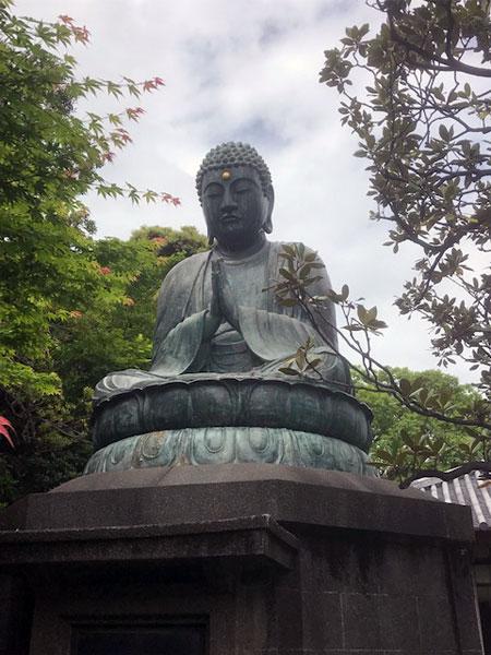 銅造釈迦如来坐像 天王寺