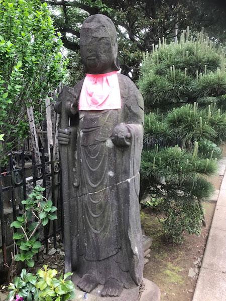 谷中 多寶院のお地蔵さん