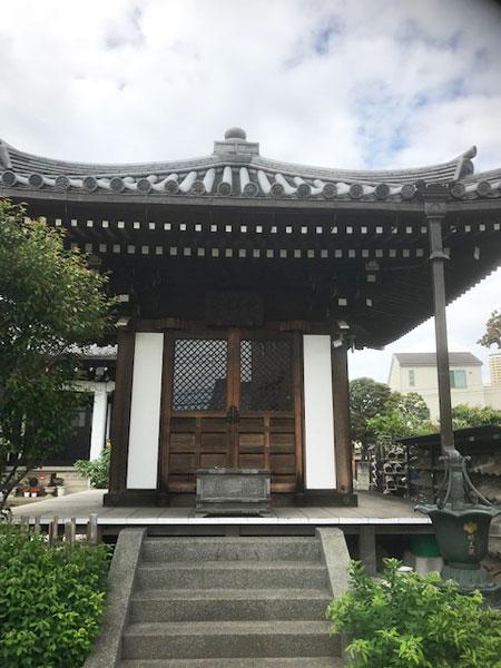 谷中 明王院 大子堂