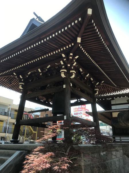 西雲寺 鐘楼