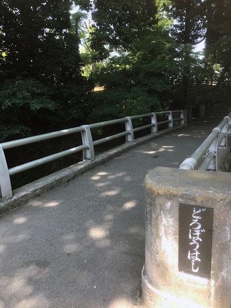 川越 喜多院 どろぼう橋