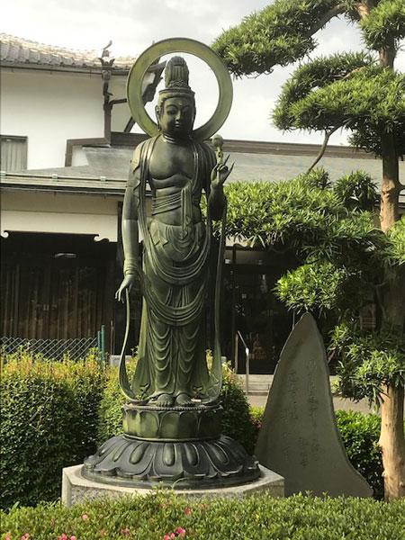 禅林寺 聖観音像