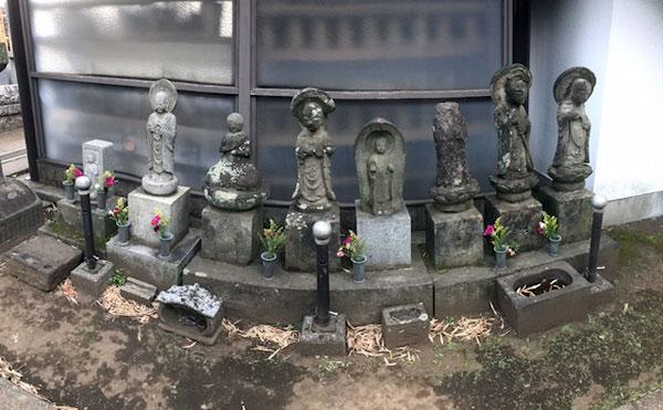 禅林寺にもお地蔵さんはいました