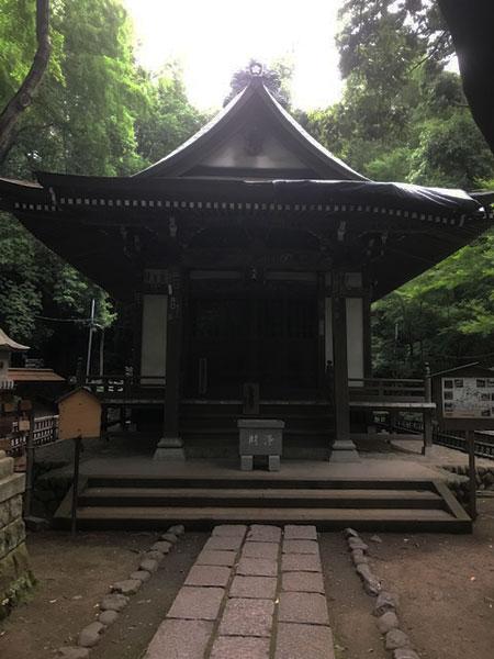深大寺の深沙堂(じんじゃどう)