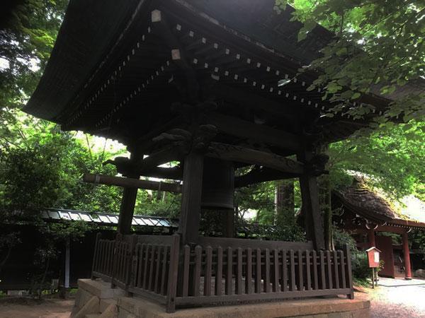 深大寺の鐘楼