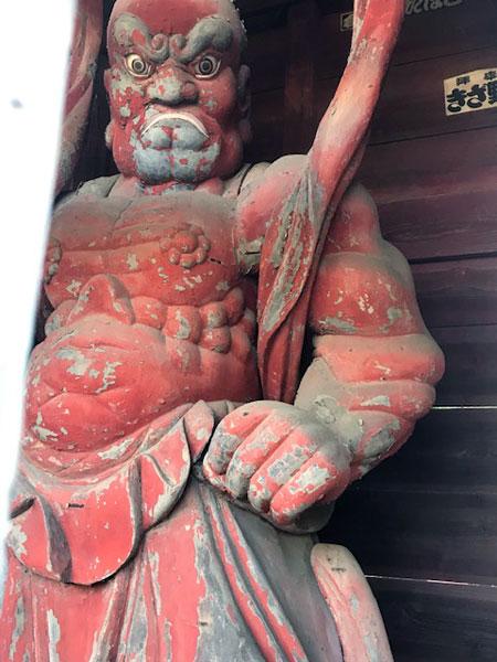 所沢 金乗院 仁王像1
