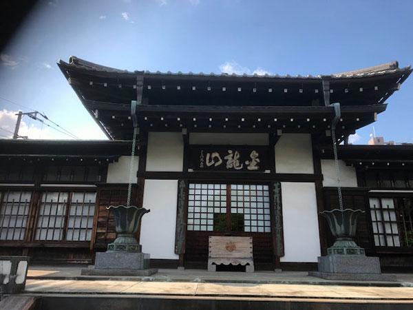 白山 大円寺 本堂