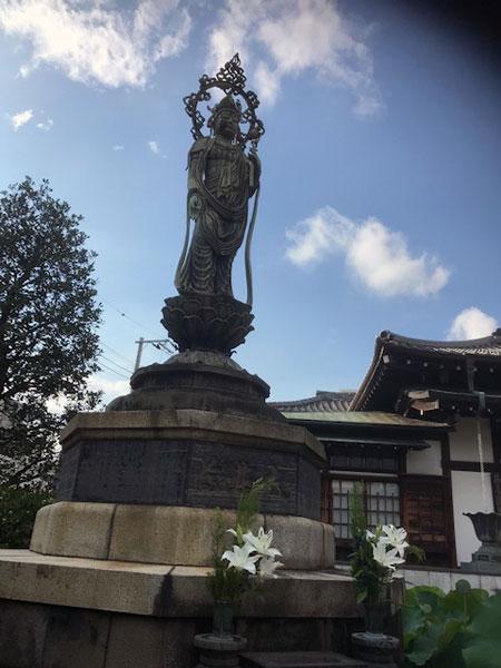 白山 大円寺 観音菩薩像