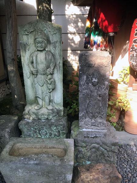 白山 大円寺 石像