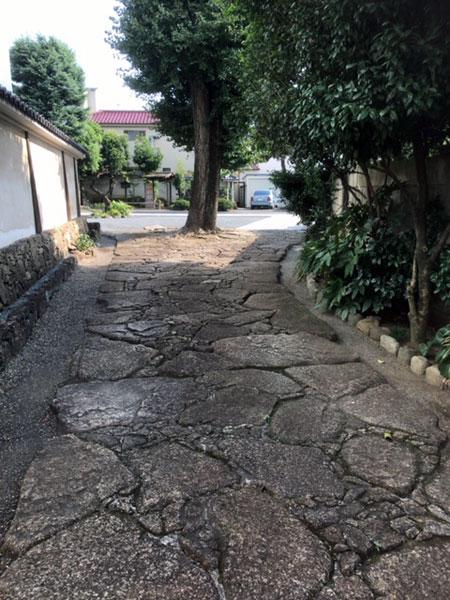 海徳寺 参道