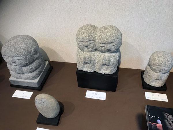 土屋誠一さん制作の石地蔵