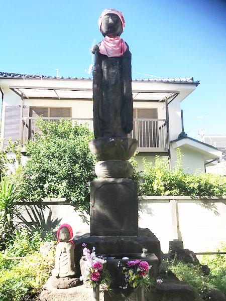 石神井公園の子育て地蔵尊