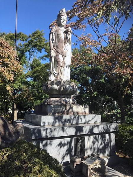 禅定院 観音菩薩像
