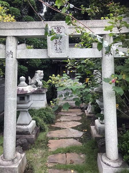 高円寺 長龍寺浅間神社