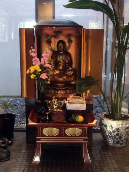 品川 来福寺 地蔵菩薩像