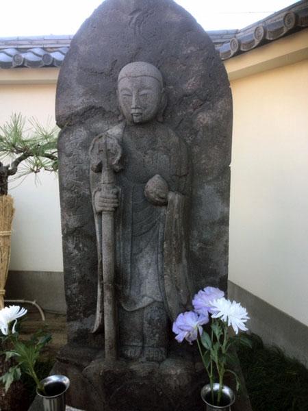 柴又 良観寺の地蔵菩薩像