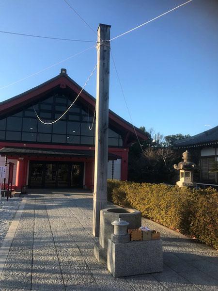 静岡 大覚寺 参道