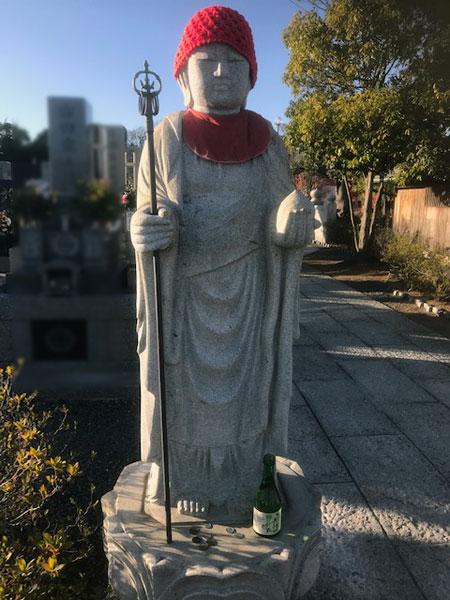 静岡 大覚寺のお地蔵さん