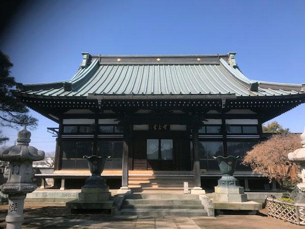桶川 大雲寺 本堂