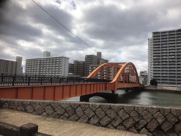 広島市旧太田川にかかる住吉橋