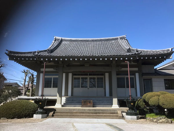 善福寺の本堂