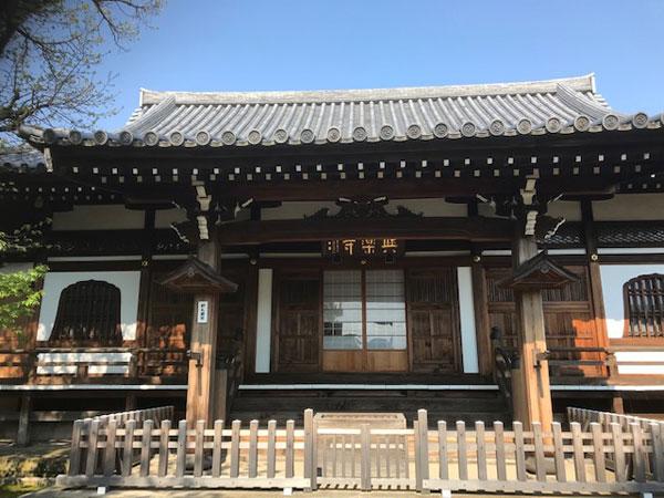 与楽寺 本堂