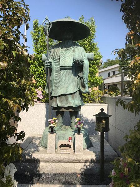 与楽寺 弘法大師像