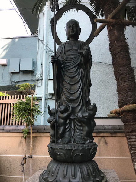 明月寺のお地蔵さん
