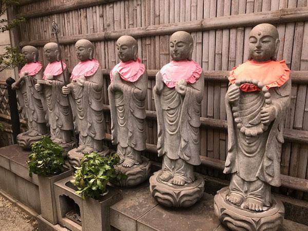 無量寺の六地蔵