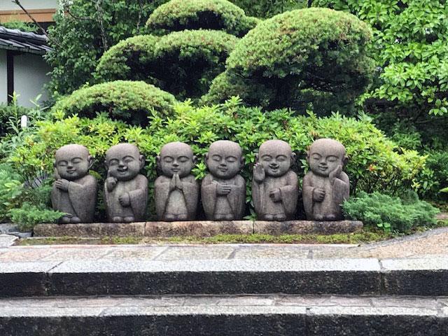 霊源院の六地蔵