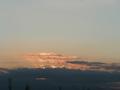 1月の日没