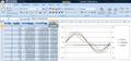 ExcelでFM - M周波数=C周波数の1倍