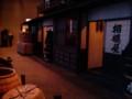 深川江戸資料館 商家が並ぶ路地の再現