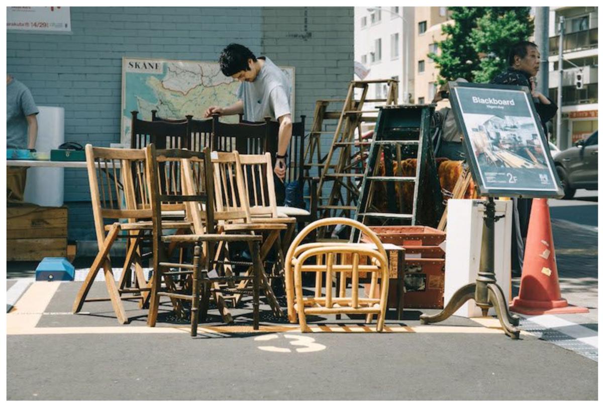 目黒通りの家具