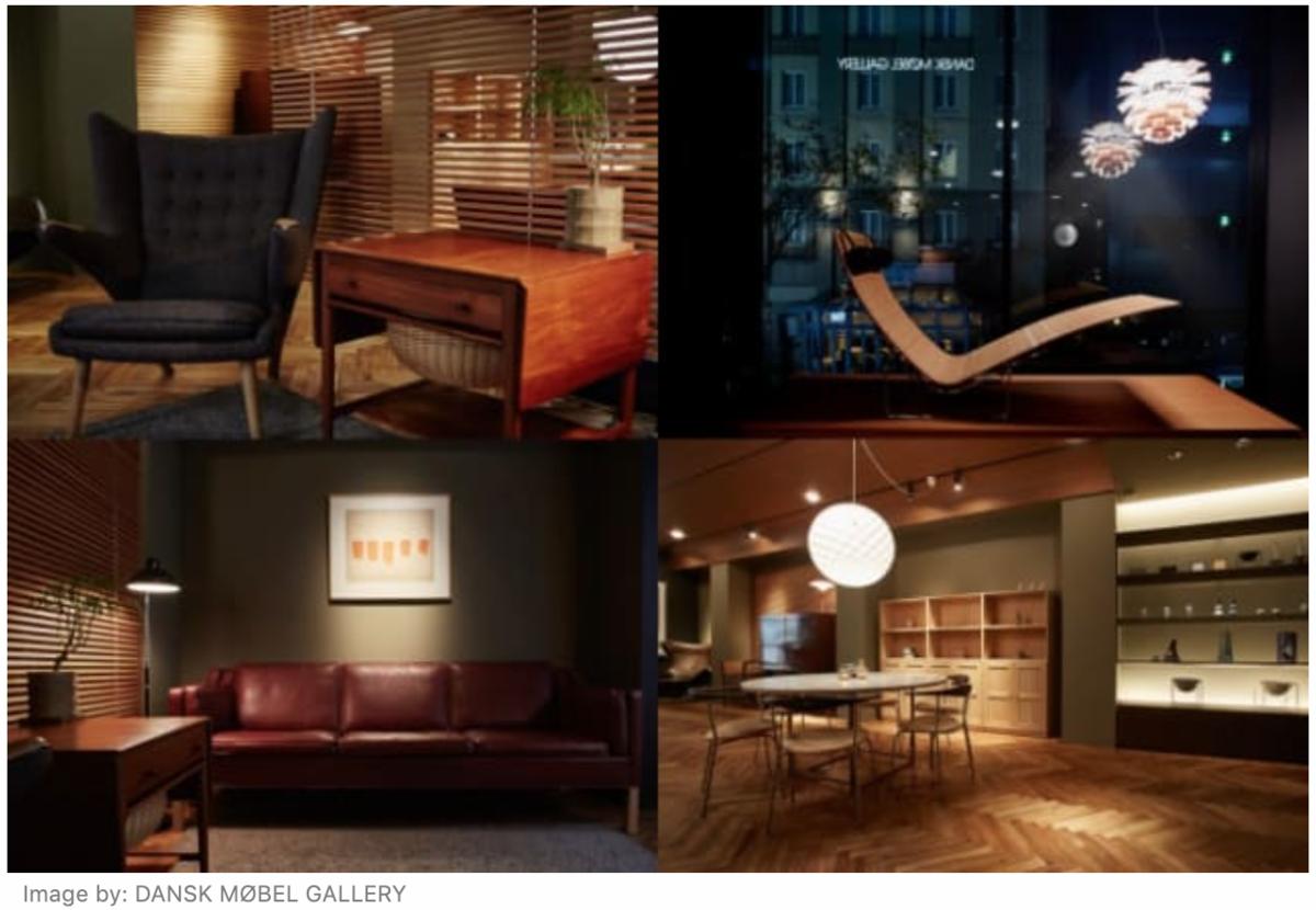 銀座の家具