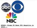 BRAINWASHING: Bankster's/Mafia's Media Monopoly: Networks Trashed Trump With 90% Negative SP