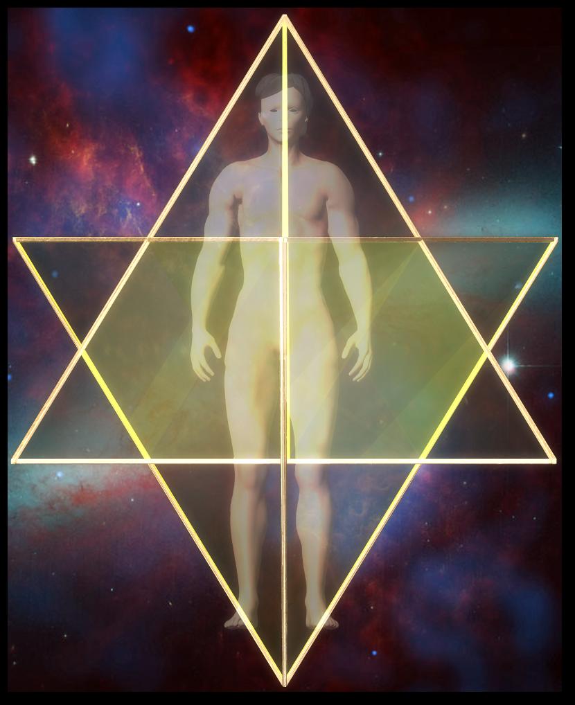 merkaba star tetrahedron front