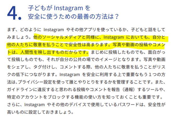Instagramの利用
