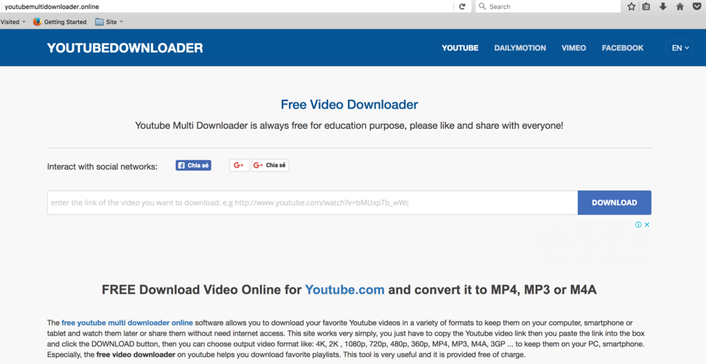 download youtube videos via link