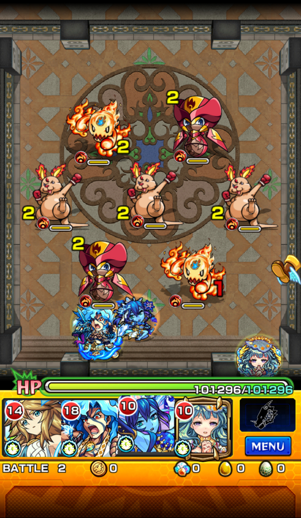 覇者の塔 21階 ステージ2